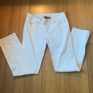 Tory Burch White Skinny Jeans Sz. 29